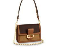 2020 Alta Qualidade Nova Bolsas De Ombro Dauphine Mini Handbags Crossbody Mulheres Mens Carteiras De Alta Qualidade Designer de Ombro Totes Mensageiro Bags