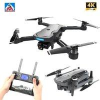 K20 Brushless Motor 5G GPS Drone com 4K HD Dual Camera Profissional Dobrável Quadcopter Quadcopter 1800m RC Distância Brinquedo vs F11 SG906 Pro