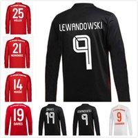 2020 2021 긴 소매 Sane Lewandowski Coman 축구 유니폼 20 21 Tolisso Gnabry Alaba Davies Muller Kimmich 축구 셔츠