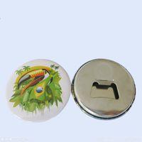 Sublimação Embalagem Emblema Magnético Acessórios 58mm Impressão Térmica de Transferência Tanela Imã De Geladeira Abridor De Garrafas Venda Quente 0 9DC J2