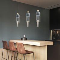 Nordic Post-Modern Restoran Bar Püskül Kolye Işıkları Sade Tasarımcı Kapalı Aydınlatma Oturma Odası Yatak Odası Başucu Otel