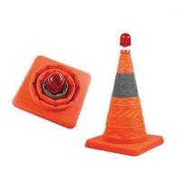Dobrável Cone reflexivo de alto brilho roadblock roadblock bloco de estrada de tráfego de bloco de tráfego piscando sinais de luzes1