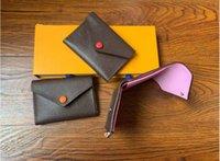 قصيرة النساء محافظ جلدية محفظة حقيبة المال حاملي بطاقات الائتمان الدولار فاتورة محفظة مخلب محفظة للذكور استخدام عملة الجودة لا مربع Q70-WQ2M