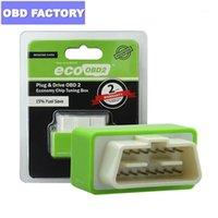Lecteurs de code Scan Outils Ecoobd2 Benzine Guant Cars Economy Chip Tuning Box Plug and Drive Eco OBD2 Interface15% de carburant Save1