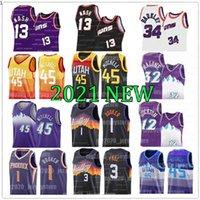 Phoenix Suns Devin 1 Booker Jerseys Chris 3 Paul Steve 13 Nash Charles Donovan 45 Mitchell Utah Jazz Barkley Karl 32 Malone John 12 Stockton