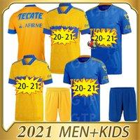الرجال 2020 2020 2021 UANL TIGRES GIGNAC Soccer Jerseys Kits 20 21 Vargas Camiseta Maillot الصفحة الرئيسية Pizarro المكسيك الكبار + أطفال قمصان كرة القدم