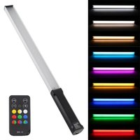 Flashes Puluz RVB Pographie colorée PO LED Stick Température réglable Température de couleur Vidéo Remplissage vidéo avec télécommande1
