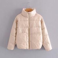 Cappotto invernale da donna Parka Hwlzltzht Cappotto invernale Donna 2021 Addensare Giacche imbottita calda Giacche femminile Outwear Giacca da neve