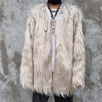 3XL плюс размер зимний шубы мужчина и женщины высокая улица толстая ветровка ватная куртка негабаритные свободные повседневные парки