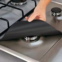 Estufa Protector Cubierta Fuerza de la cocina Estufa de la estufa de la estufa del quemador Protector Accesorios de la cocina Mat de la estufa antiincrustante a prueba de aceite.