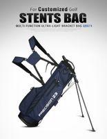 PGM Saco De Golfe Golf Bracket Pacote Ultra-Luz Portabilidade e Grandes Capacidade Golf Gun Bolsas podem conter 9 Clubes Suporte 201027