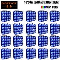 20 sztuk DMX RGB LED Matrix Beam COB Blinder RGB 3In1 16x30W Profesjonalna publiczność Disco LED Lighting Matrix