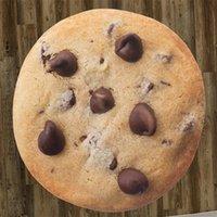 Créatif 3D Cookie Tapisserie Tapisserie Créations Food Creats Biscuits Serviette de la plage Chocolat Novelty Couverture parfaite Tortilla Tortilla Y200324