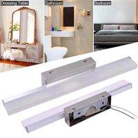 Dernier Design 7W 40cm et lampe intelligente Barre de salle de bain Barre de salle de bain Silver Black Lights Haute luminosité Matériau de qualité supérieure Éclairage