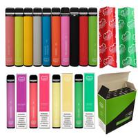 Bateria sem botão de vape pilhas de metal plástico elektronische zigarette descartável e cigarro 800 puffs 550 Mah vazio barra de sopro mais ecig