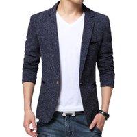 Browon Yeni Varış Erkek Blazer Ceket Takım Elbise Düğün Balo Parti Slim Fit Akıllı Casual Suit Erkekler Ceket Iş Erkekler Suit Ceket 201124