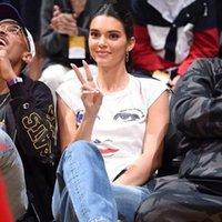 Donna appassita Kendall Jenner Same Design Lavato Vintage Vintage Strappato Fidanzato Strappato Jeans per le donne Tute Y200422