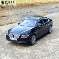 1:32 Escala para TheBMW GT 535i 5 Series Diecast Liga de Metal Coleção Modelo Car Puxar Voltar Brinquedos Sound Veículo X0102
