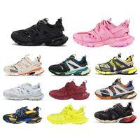 2021 triple s المسار 2 المتسابقين الأحذية 3.0 الرجال النساء الأصفر الوردي الأسود عارضة الأحذية الرياضية المدربين أحذية رياضية balancica حجم 36-45 caow #