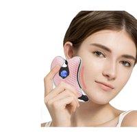 V-Face Cilt Enstrüman Hurda Plaka Yüz Lenfatik Drenaj Kazıma Enstrüman Mikro Elektrik Kazıma Plakası Maquillaje