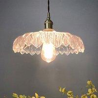E27 Nordic Retro Loft Luzes Simples Luzes Sala de Livro De Vidro Edison Estilo Retro Pingente Iluminação Vintage Balcão Lâmpada
