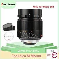 Altre telecamere CCTV 7Artisans 28mm F1.4 Micro SLR Lente per fotocamera per Leica M-M M240 M3 M5 M6 M7 M8 M9 M9 Pografia Studio1