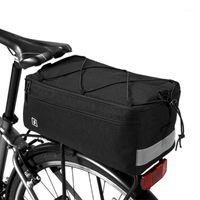 Multifunción Ciclismo Ciclismo Bolsa de enfriador con aislamiento Bicicleta Bicicleta Bicicleta de asiento trasero Bolsa de equipaje Pan Pannier Accesorios de ciclismo1