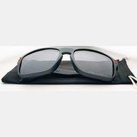 Estilo (10) Mens Moda Esportes Esportes Sunglasses Fumo Matte Preto Quadro Lente Polarizada Marca Vidros Ao Ar Livre Dropshipping Yun.ux-Design