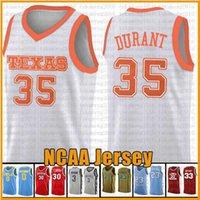 11.19 35 Kevin Jarrett 23 Culver Durant Texas Tech Red Raider NCAA Colloege Basketball Jersey 자수 로고 오렌지