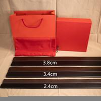 Cinturón de calle caliente Cinturón de la calle Cinturón de mujer con hebilla lisa Cinturones de cuero Ancho 2.4cm 3.4cm 3.8cm Calidad superior con caja