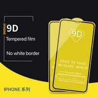Protetor de tela do telefone celular Aplicar no Apple 12 Pro Mordened 9D Full HD filme iphone x xs max 7 8 11 anti-riscos