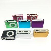 Mini clip lettori MP3 Player Sport Style Player Music Player con slot per schede Micro SD / TF Nessuna scheda di memoria senza schermo LCD
