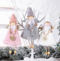 Горячая Новая Любовь Ангел Рождественские Украшения Творческие Рождественские Кулоны Детские Подарки Украшения Дома DHL Бесплатная Доставка