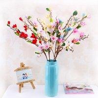 Декоративные цветы венки 2 шт. / Лот 10 головы реальные сенсорные искусственные магнолии филиал симуляционный цветок дома свадебный поддельный шелковый букет