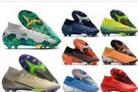 2020 Nuovo Mercurial Superfly VII 7 360 Elite SE FG MDS 001 002 CR7 Ronaldo Neymar NJR Mens di calcio dei ragazzi stivali scarpe da calcio tacchetti