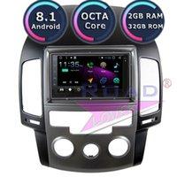 Auto Audio TOPNAVI Android 8.1 Multimedia-Player für I30 2009 Automatisches Handbuch Stereo GPS-Navigation Magnit 2 DIN-Radio MP3 Keine DVD1