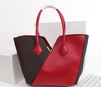 M40460 جودة عالية الجلود الأزياء الكلاسيكية شعرية حقائب للنساء محفظة حقائب اليد امرأة عالية سعة التسوق أكياس حقيبة الكتف