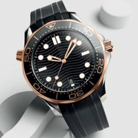 TM İzle Sıcak Satış Erkekler için Yeni Erkek Saatler Profesyonel Deniz Dalgıç İzle Otomatik Hareketi 42mm Seramik Çerçeve Master Su Geçirmez Saatler