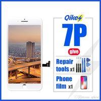 Perakende Onarım Araçları Film Fabrika Değiştirme LCD iPhone 7 Artı LCD Ekran Dokunmatik Sayısallaştırıcı Meclisi iPhone 7Plus LCD