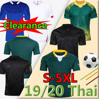Todo o tamanho grande 4xl 5xl Black South Champion Versão África Jersey Austrália Engfranceland Camisas 2019 Japão Rugby Copa do Mundo Tailandesa