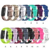 Yedek Yumuşak TPE Silikon Kayışı Fitbit Inspire2 Akıllı Watch Band Klasik Bilezik Fitbit Inspire 2 Bilekliği Toptan
