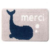Cuarto de baño sin deslizamiento caliente Cuarto de baño Alfombra de la alfombra en el baño Cómodo almohadilla de baño, alfombras de gran tamaño grandes1