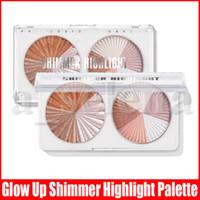 Langmanni Highlighter Gesichtsbronzer Palette Make-up glühen Gesichtskontur Schimmer Pulver Body Base Beleuchtung Highlight Kosmetik