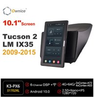 "AUDIO AUTORIORIO 720P Android 10.0 Radio Foryundai Tucson 2 LM IX35 2009-2021 Video Auto Multimedia Head Unità 10.1 ""IPS Rotadable"