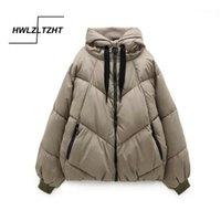 Mulheres para baixo parkas hwlzltzht 2021 inverno encapuçado jaqueta quente algodão acolchoado tamanho grande mulher casaco engrossar mulheres parka1