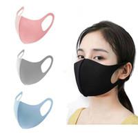 Men kids Face Mask Design Cotton Solid Color Adjustable Straw Masks Dustproof Adult Cover Outdoor Unisex Sports facemask