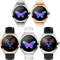IP68 Su Geçirmez KW10 Akıllı İzle Kadınlar Güzel Kalp Hızı Monitörü Uyku Izleme Smartwatch Android Akıllı Bilezik Için Smartwatch