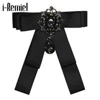 Épingles, broches ruban Broche Broche de haute qualité Broche Bowknot Bownot Corsage Black Cravates pour hommes Crafts Boufts Bouquet Accessoires de mariage