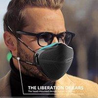 أعلى جودة kanshouzhe جديد xl قناع قابل للغسل قابلة لإعادة الاستخدام قناع الوجه الأنف فصل الغبار أقنعة الغبار تنفس الغبار مع 5 قطع مرشحات