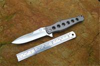 13900 Couteau pliant de haute qualité 9CR13MOV Lame TC4 poignée de camping extérieur survie chasse pêche à la pêche EDC outils